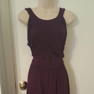 Purple Gilli Grecian Dress